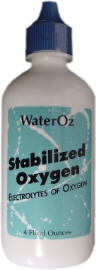 Stabilized Oxygen: health and water storage.