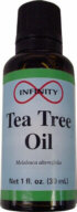 Tea Tree Oil: The world's strongest antiseptic! Comes from Australia.